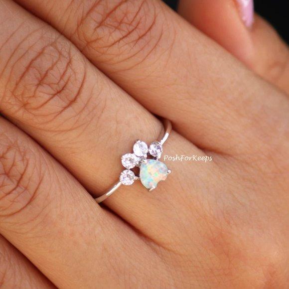 Jewelry | 925 Sterling Silver Opal Paw